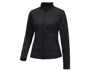 e.s. Funktions Sweatjacke solid, Damen