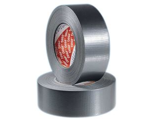 tesa fabric tape 4662, silver