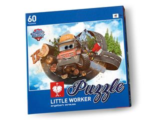 Little Worker Puzzle Woodman Willy
