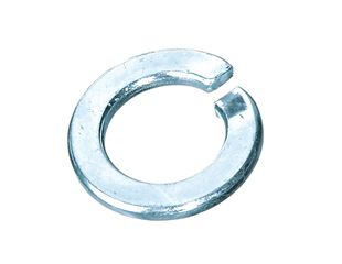 Spring rings DIN 127 Form A, galv. zn.