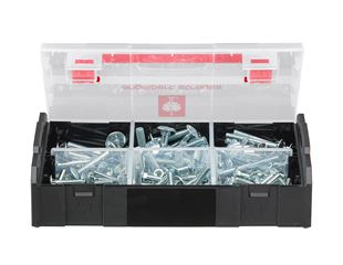 Cup square bolt, DIN 603, 125 pieces