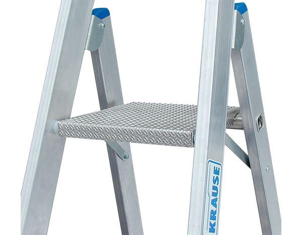krause alu stufen stehleiter fahrbar engelbert strauss. Black Bedroom Furniture Sets. Home Design Ideas