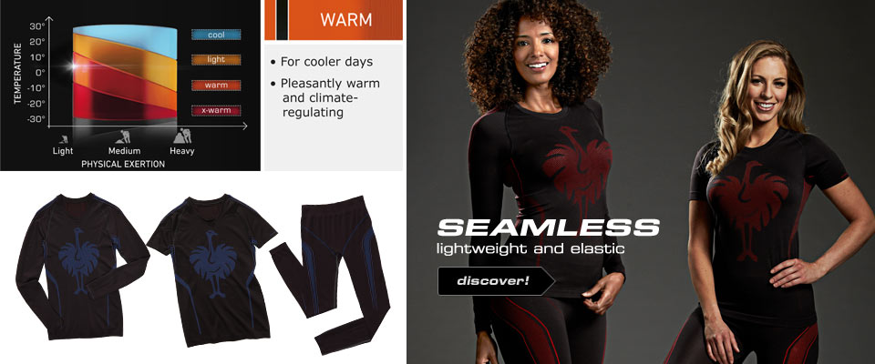 e.s. Functional-Longsleeve seamless-warm, ladies