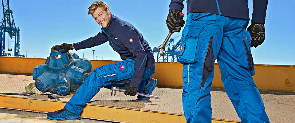 Work trousers e.s.motion 2020