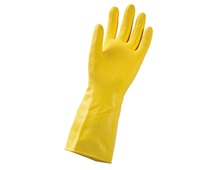 Latex household gloves Super