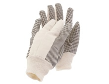 PVC Heavy cotton gloves
