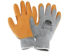 Latex-Strickhandschuhe Eco-Grip