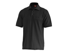 e.s. Polo shirt cotton Pocket