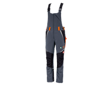 e.s. Forestry cut protection bib & brace, KWF