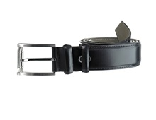 Leather belt Benson