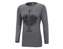 e.s. Long sleeve Merino, men's