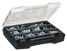Pan-head cap screws, ISO 4762, 240 pieces