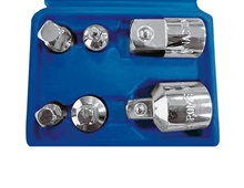 Socket adapter set, 6 pcs