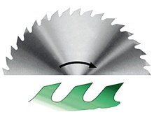 Full steel (CR) saw blades