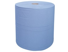 Industrial cleaning paper on rolls
