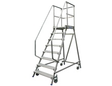 KRAUSE Mobile platform ladder