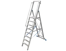 KRAUSE Stepladder with large plattform