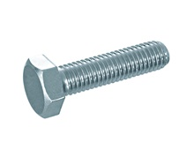 Hexagonal screws DIN 933 galv. zn.