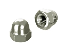 Domed nut DIN 1587 high Form, A2