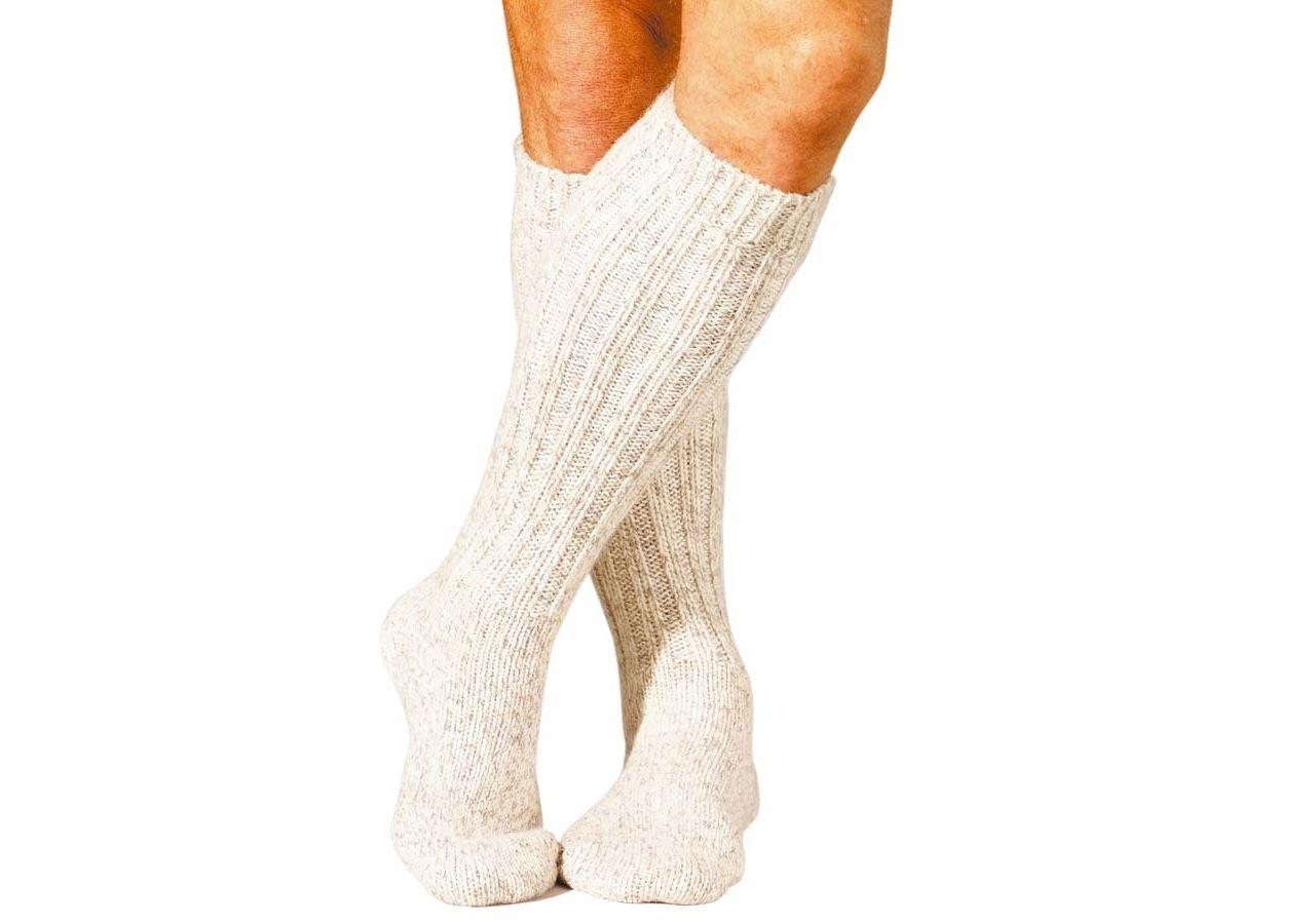 Socks: e.s. Norwegian socks Nature x-warm/x-high + nature