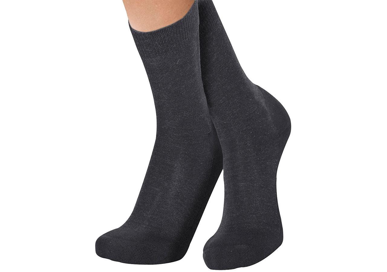Socken | Strümpfe: e.s. Funktionssocken warm/high + schwarz
