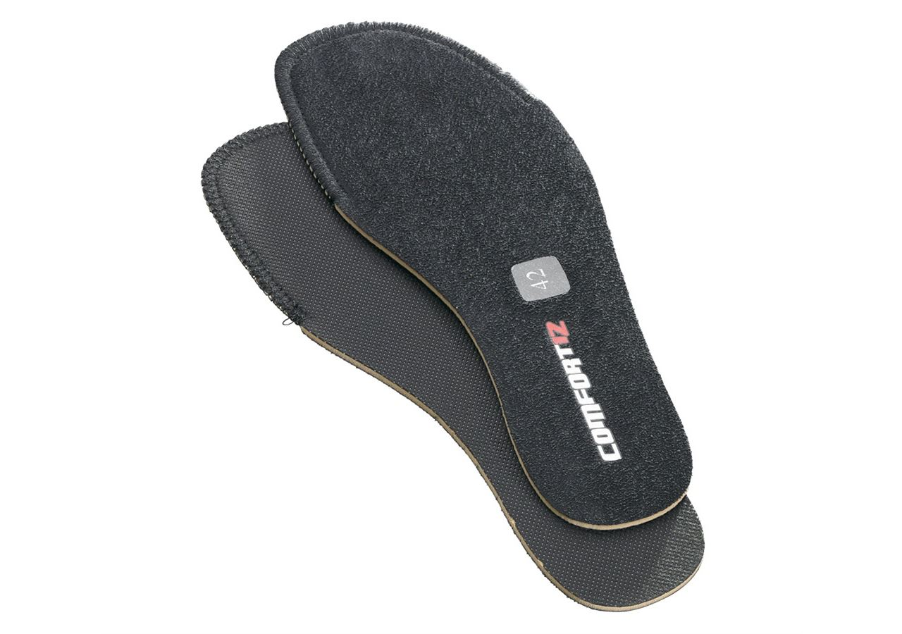 Insoles: Replacement insole Comfort12 + black