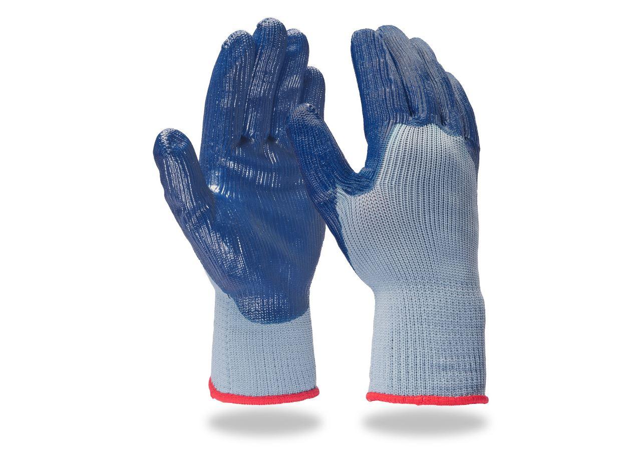 Revêtement: Gants en tricot en nitrile Nitril-Basic II
