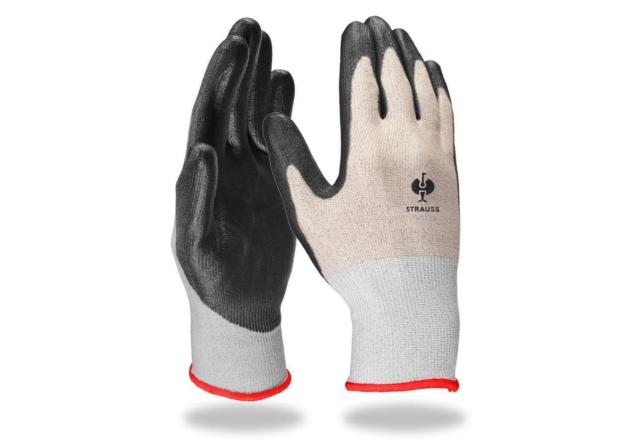 Beschichtet: PU-Schnittschutzhandschuhe, cut B