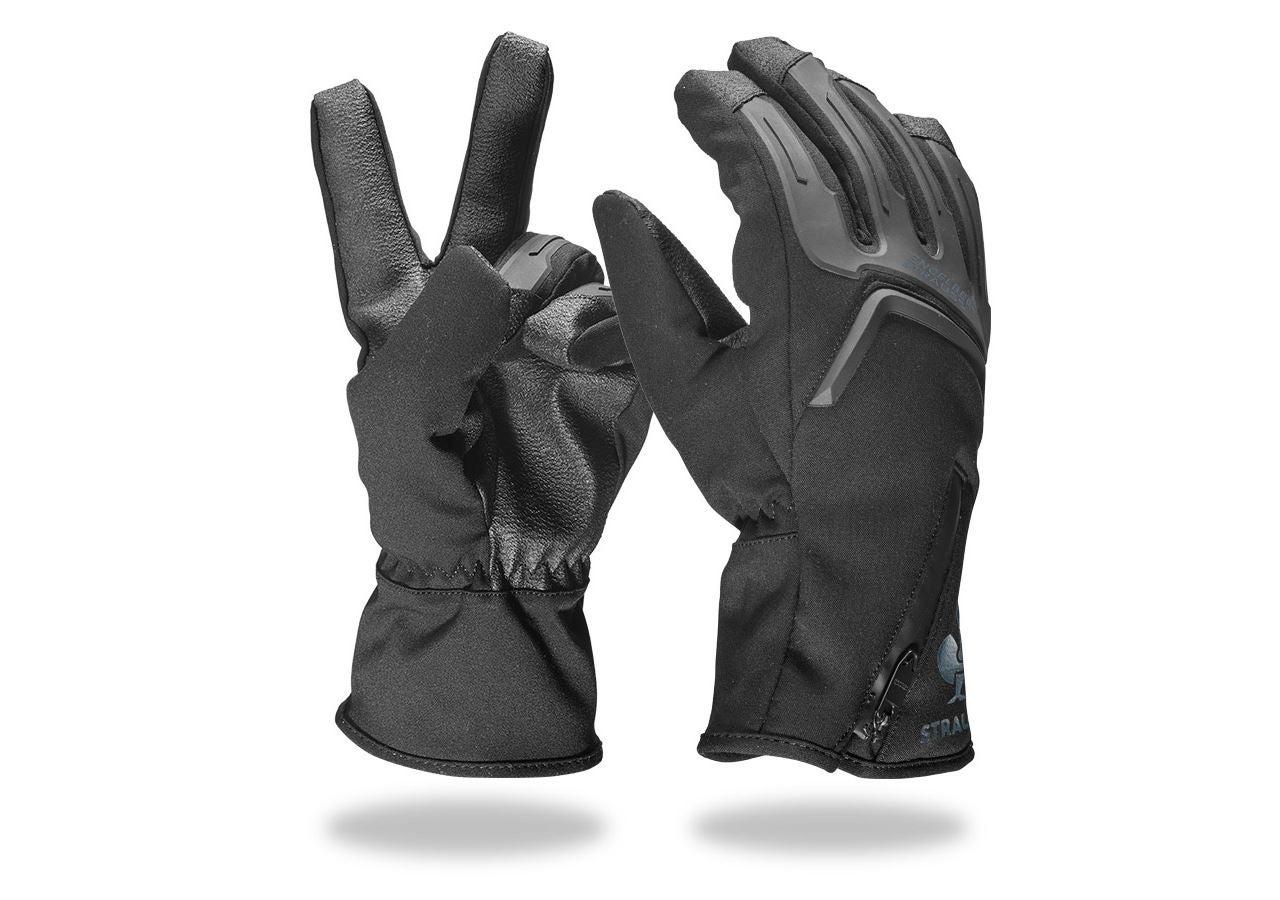Hybrides: e.s. Gants d'hiver Proteus Ice + noir/gris