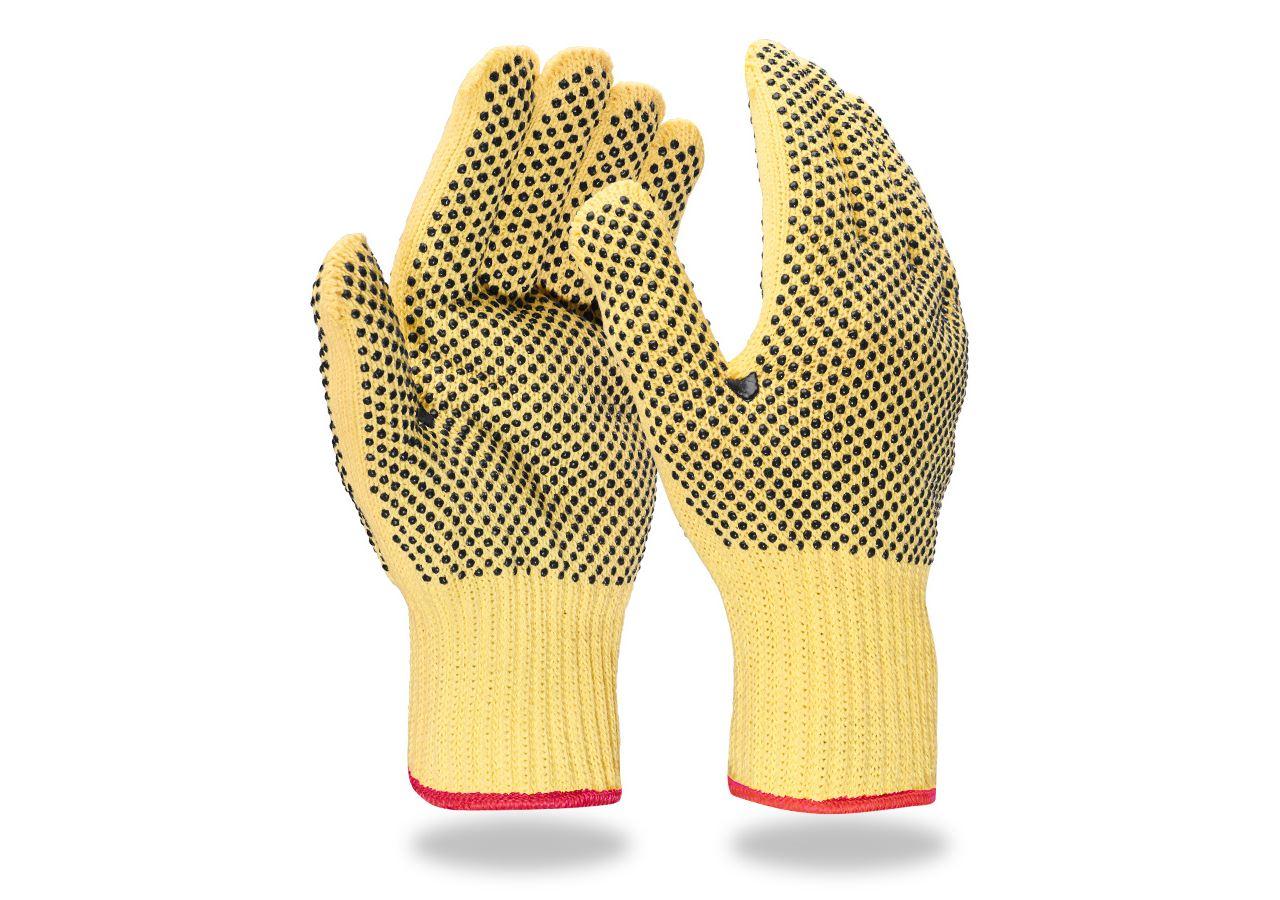 Beschichtet: Aramid-Strickhandschuhe Safe Point
