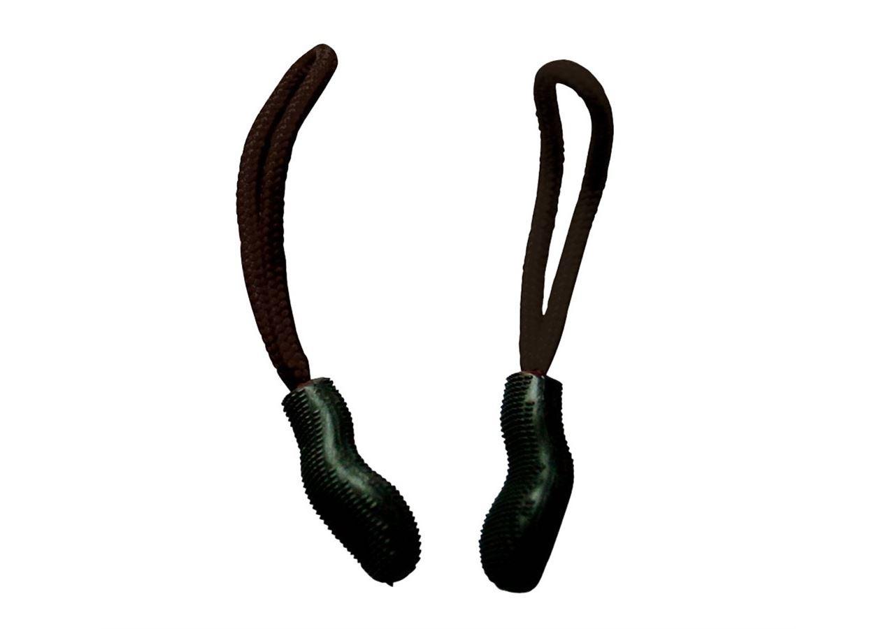 Accessories: Zip puller set + black