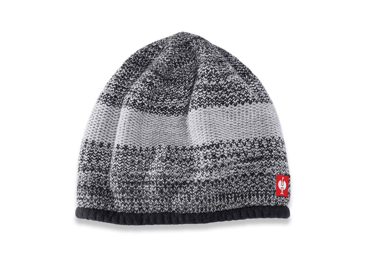 Accessories: Knitted cap e.s.motion 2020 + black/platinum