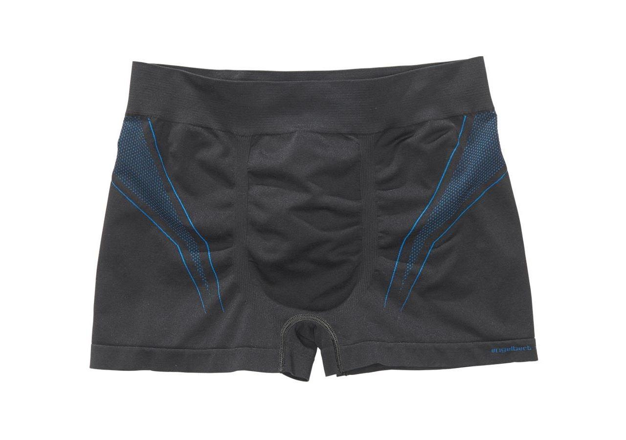 Underwear   Functional Underwear: e.s. functional pants seamless - warm + black/gentian blue