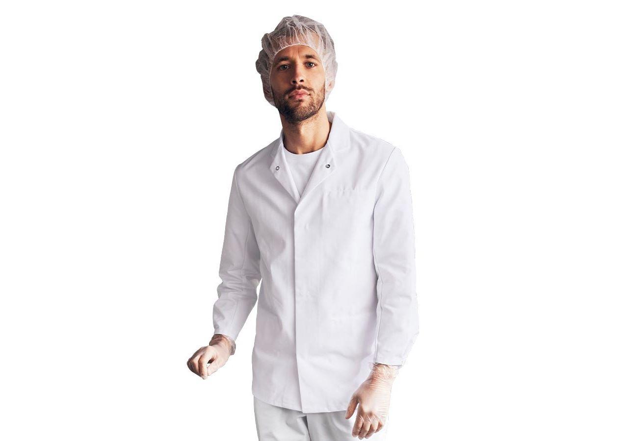 Vestes de travail: Veste professionnelle HACCP + blanc