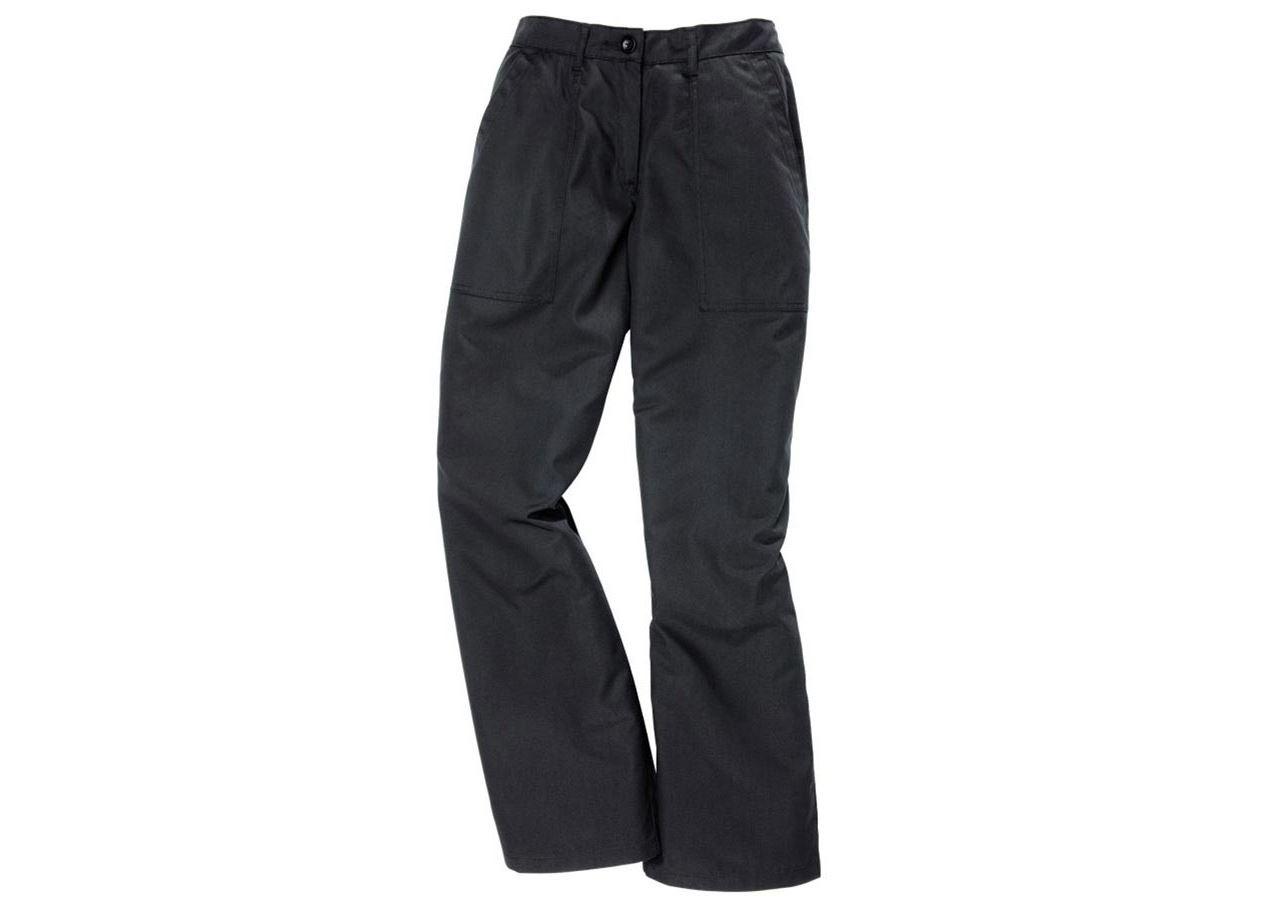 Work Trousers: Women's trousers Anne II + black