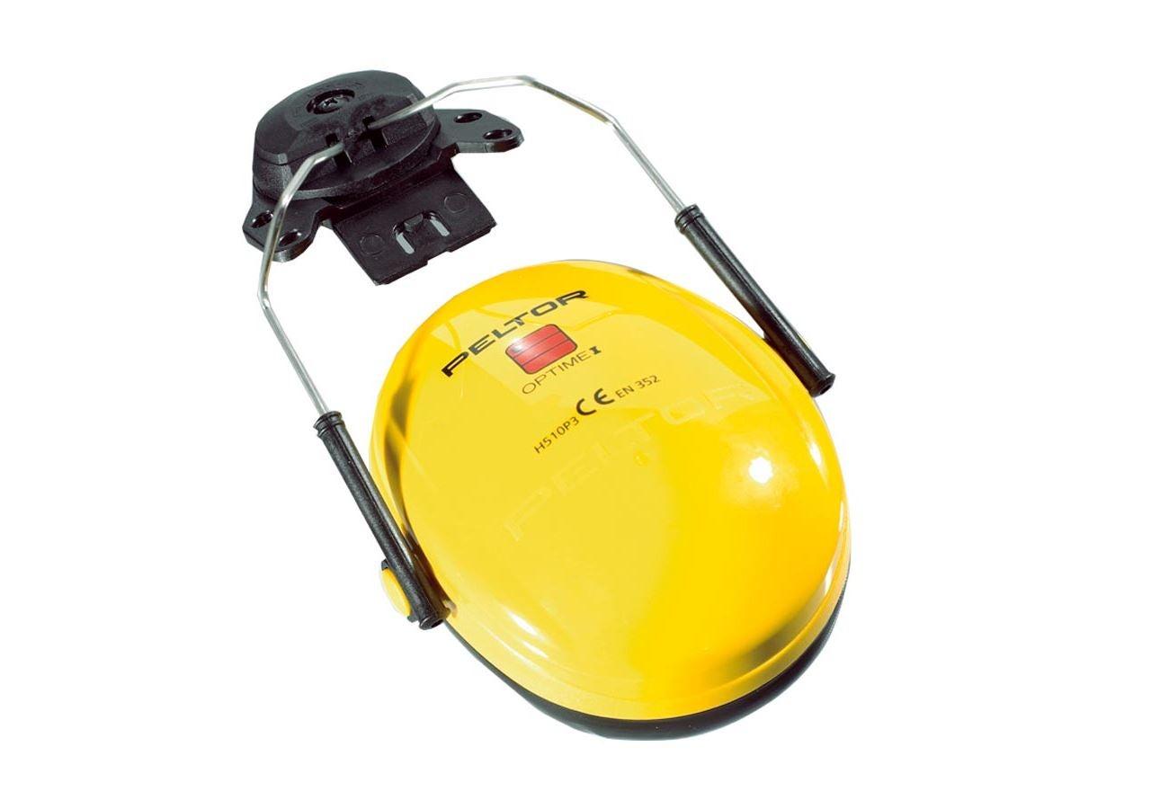 Kapselgehörschützer: 3M Peltor Gehörschützer z. Helmbefestigung OptimeI + gelb