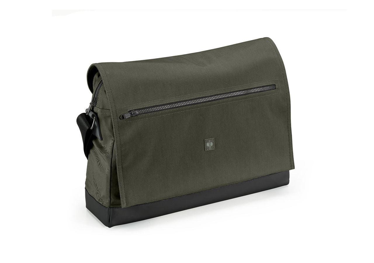 Accessories: Messenger Bag e.s.motion ten + disguisegreen