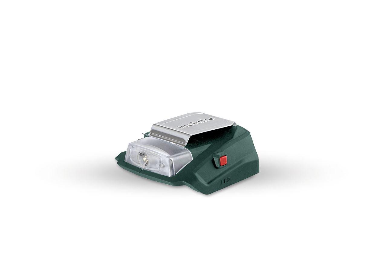 Lampen | Leuchten: Metabo 18,0 V USB-Power-Adapter mit Lampe
