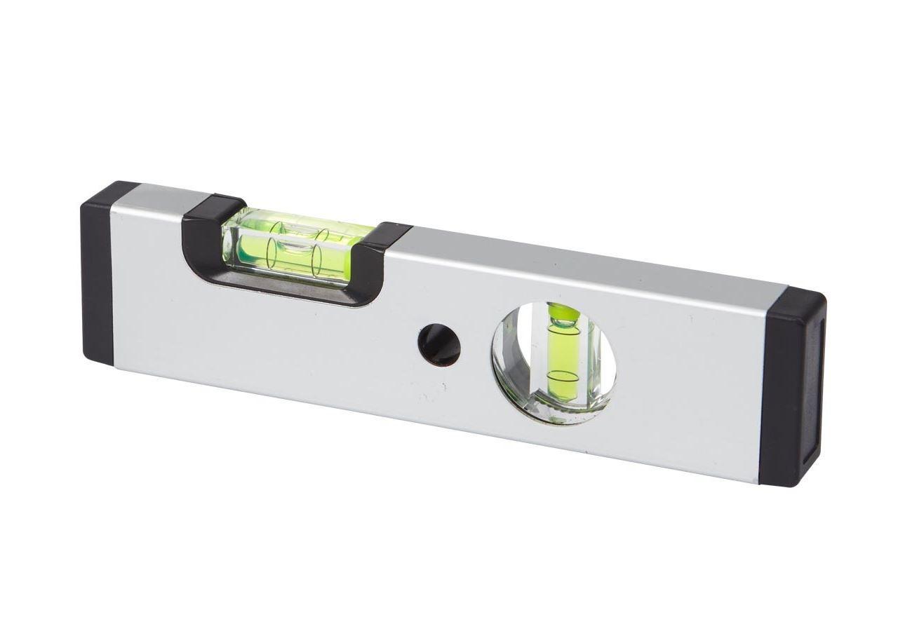 Measuring tools: e.s. Aluminium spirit level