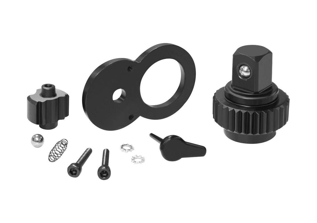 Socket wrench: e.s. Ratchet set for e.s. Reversible wrench pro