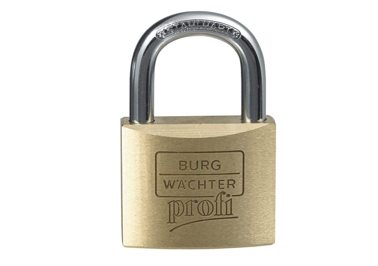 Small parts: Brass padlock 116 profi