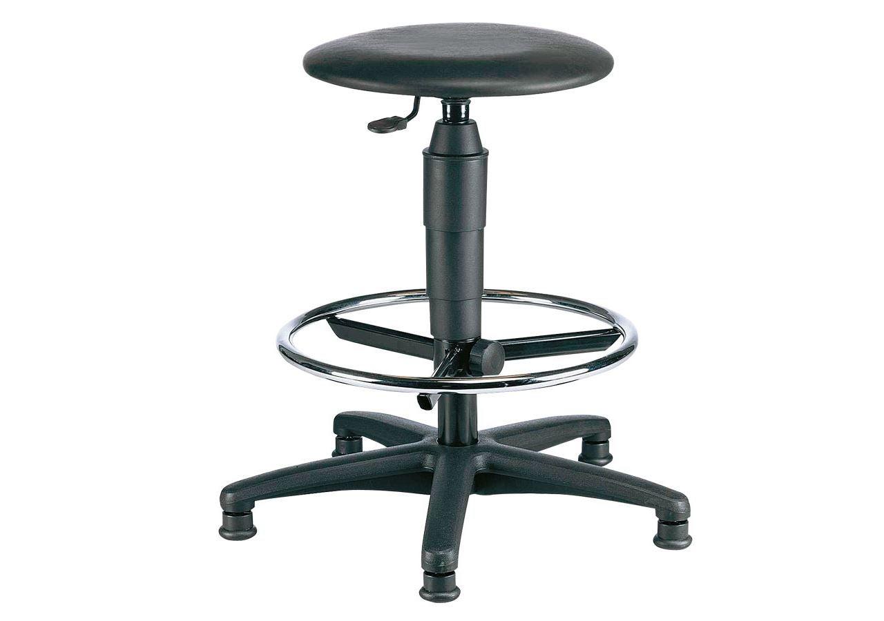 Stühle: Drehhocker, Kunstleder