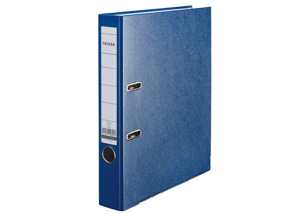Organisation: Falken Kunststoff-Ordner + blau