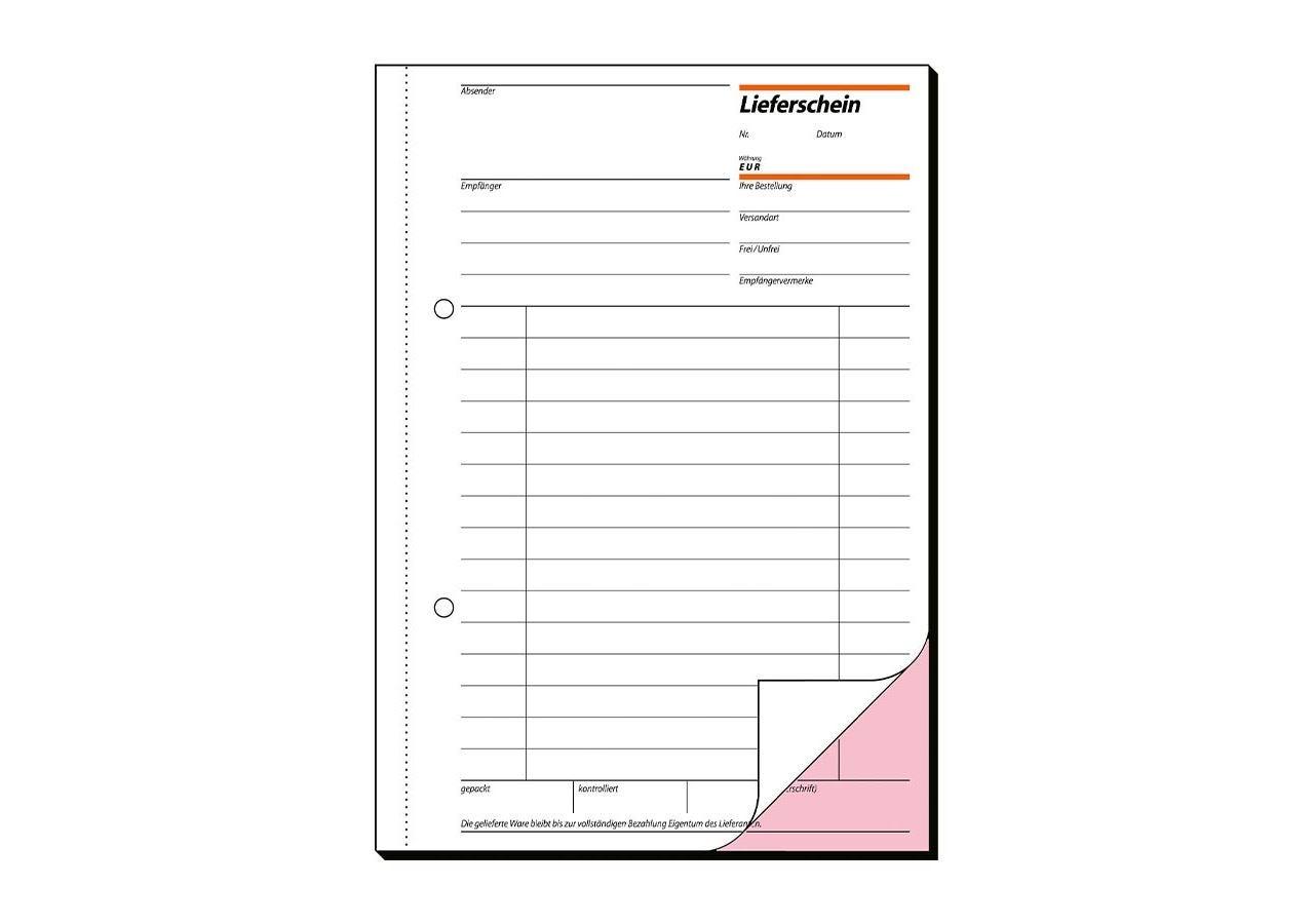 Produits en papier: Blocs de formulaires Sigel Bordereau de livraison