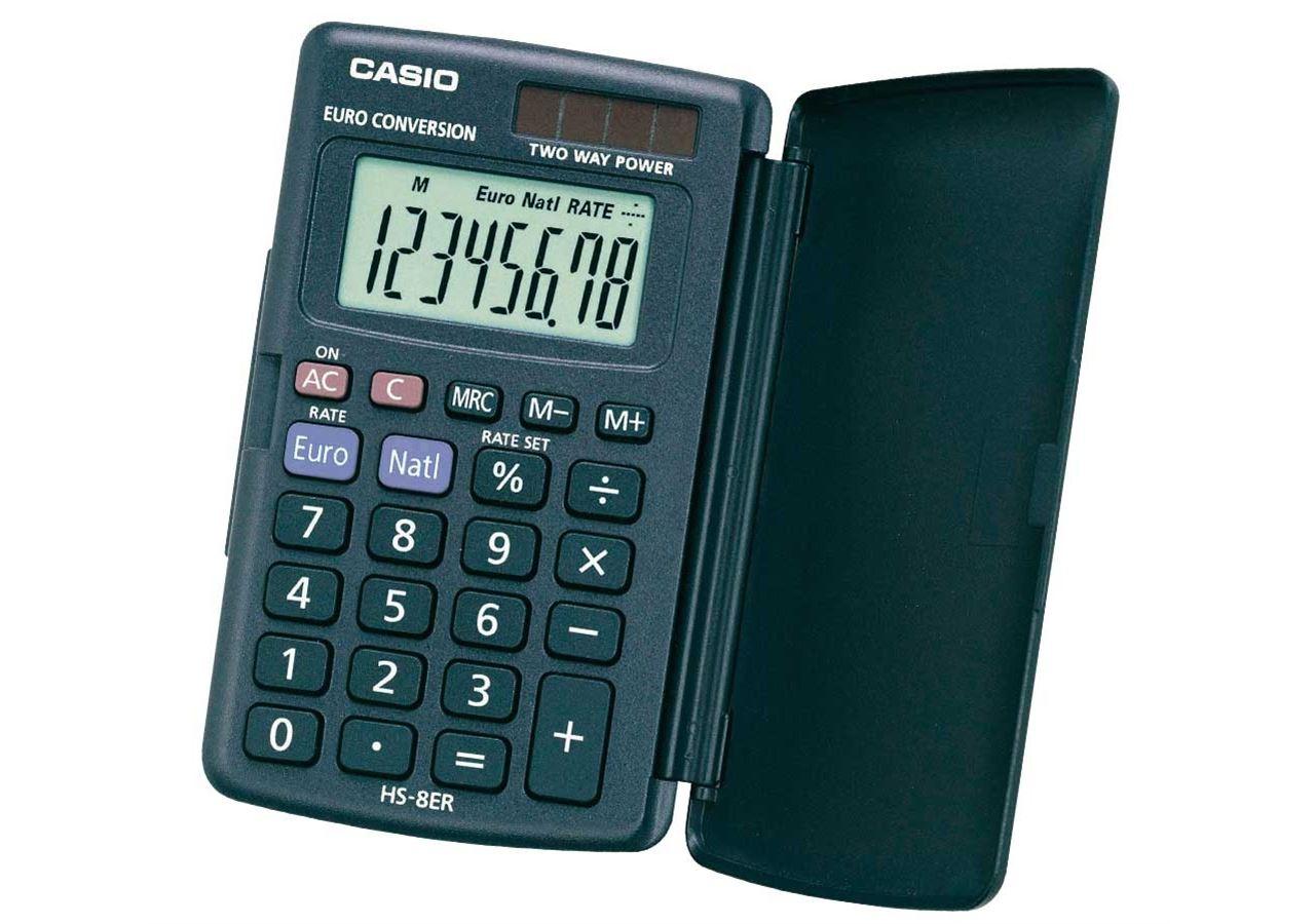 Office equipment: CASIO HS-8ER, SUPER-TECH