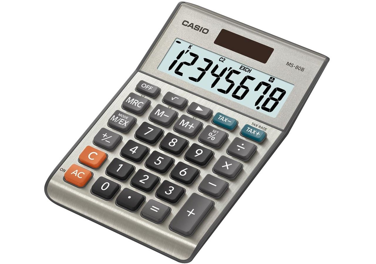 Office equipment: Desktop calculator MS-80 B