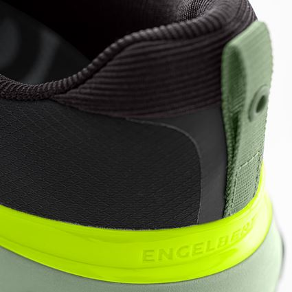 Other Work Shoes: Allround shoe e.s. Bani + black/palegreen 2
