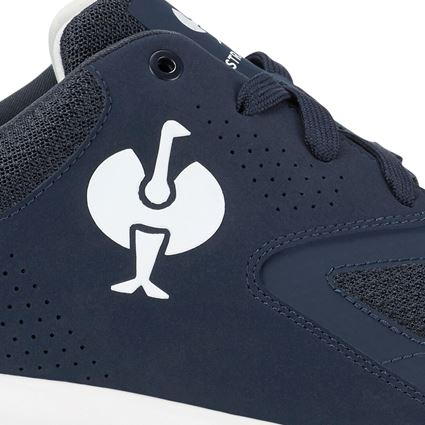 O1: O1 Work shoes e.s. Horen II + deepseablue/purewhite 2
