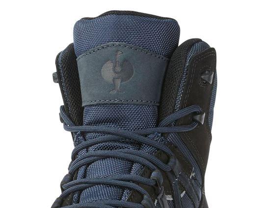 S1: e.s. S1 Safety boots Pallas mid + black/sapphire 2