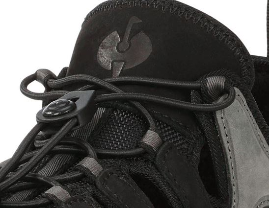 S1: e.s. S1 Safety sandals Pallas + cement/black 2
